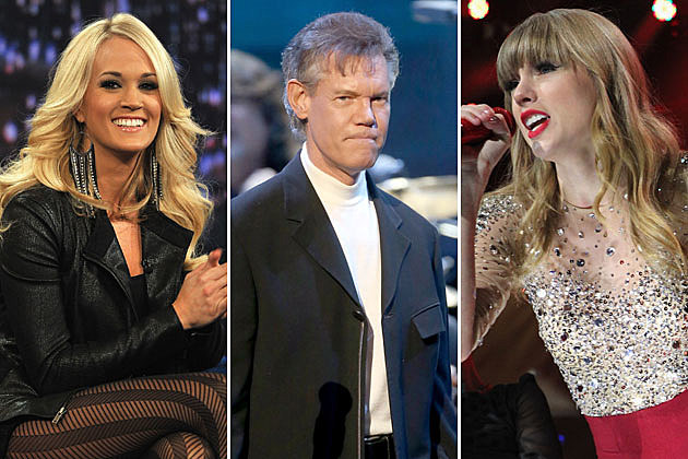 Carrie Underwood Randy Travis Taylor Swift