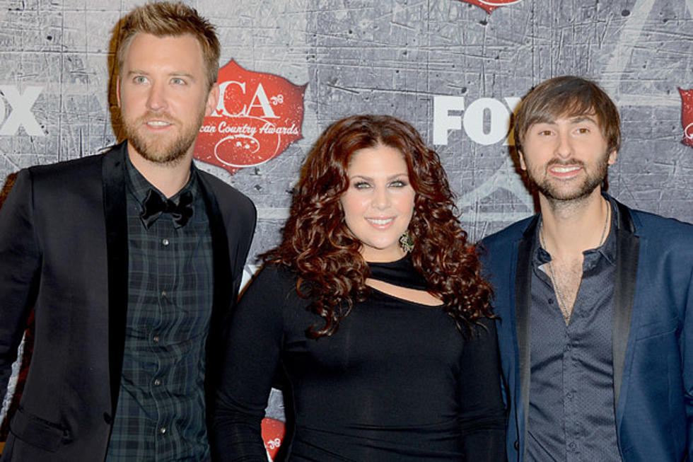lady antebellum close 2012 american country awards with christmas baby please come home