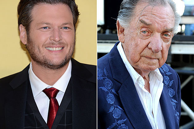 Blake Shelton and Ray Price