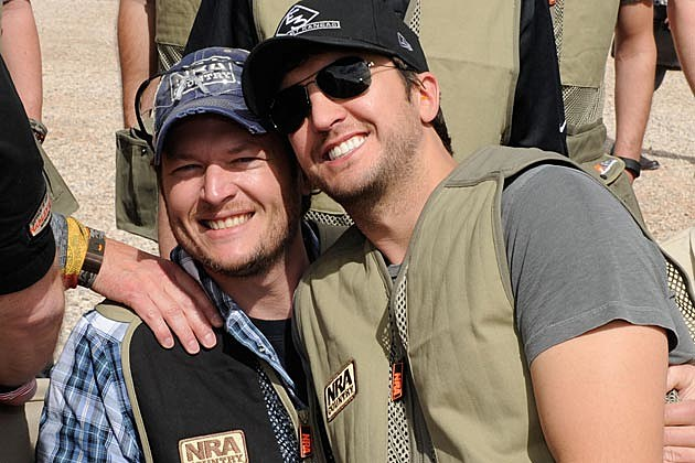 Blake Shelton Luke Bryan
