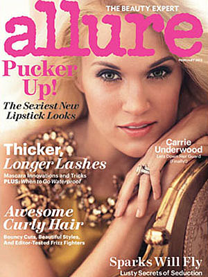Carrie Underwood Allure Magazine Cover