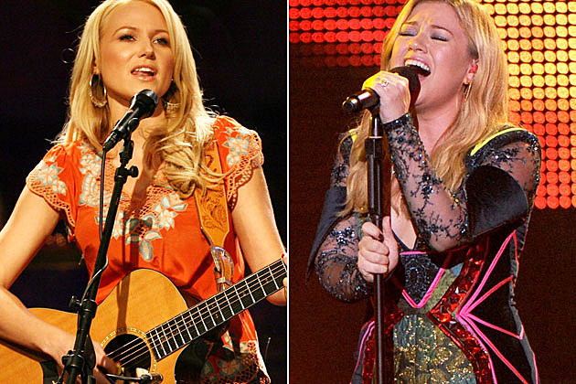 Jewel and Kelly Clarkson