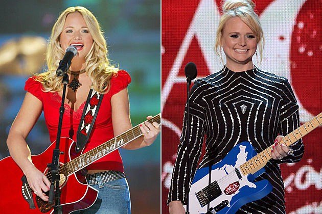 Miranda Lambert Then and Now