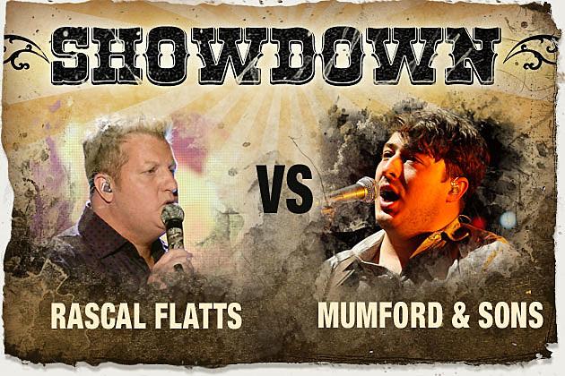 Rascal Flatts Mumford and Sons
