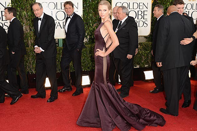 Taylor Swift Golden Globes 2013