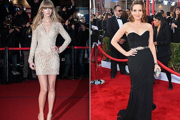 Taylor Swift TIna Fey