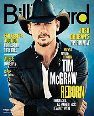 Tim McGraw Billboard Cover