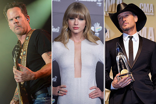 Gary Allan Taylor Swift Tim McGraw