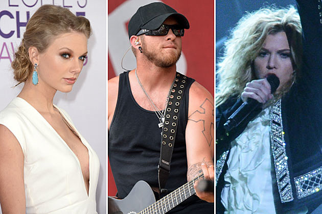 Taylor Swift, Brantley Gilbert, Kimberly Perry