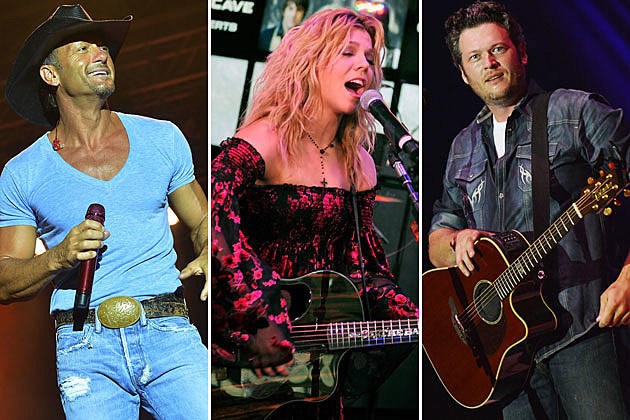 Tim McGraw, Kimberly Perry, Blake Shelton