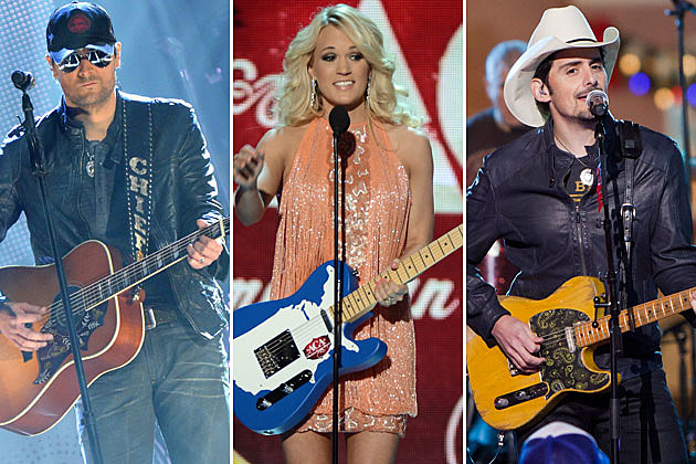 Eric Church, Carrie Underwood, Brad Paisley