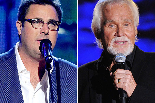 Vince Gill and Kenny Rogers