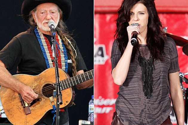 Willie Nelson and Little Big Town