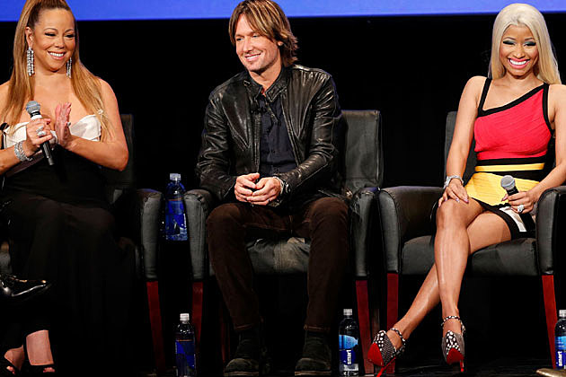 Keith Urban, Mariah Carey and Nicki Minaj for Season 12 'American Idol'