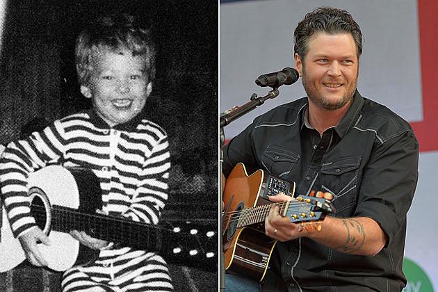 Blake Shelton as a Kid