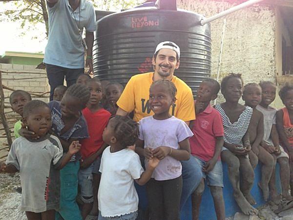 Brad Paisley in Haiti