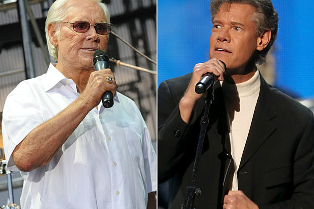 George Jones and Randy Travis