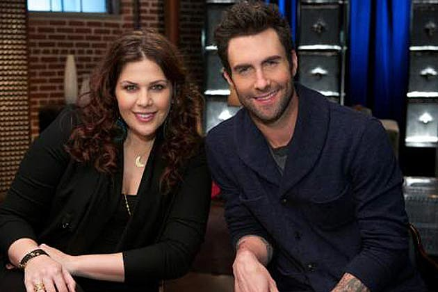 Hillary Scott Adam Levine The Voice