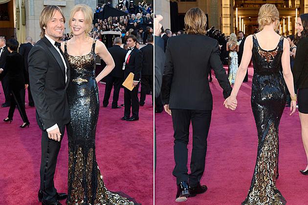 Keith Urban Nicole Kidman Oscars