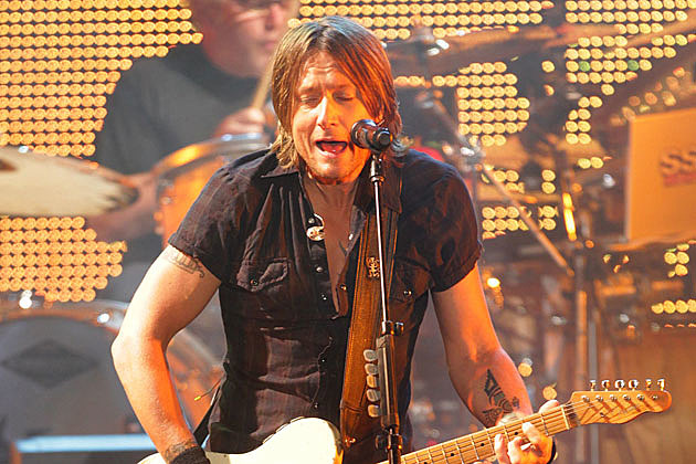 Keith Urban Funny Guitar Face