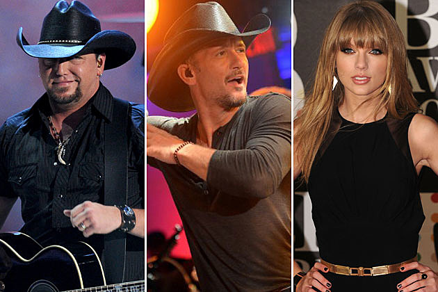 Jason Aldean Tim McGraw Taylor Swift