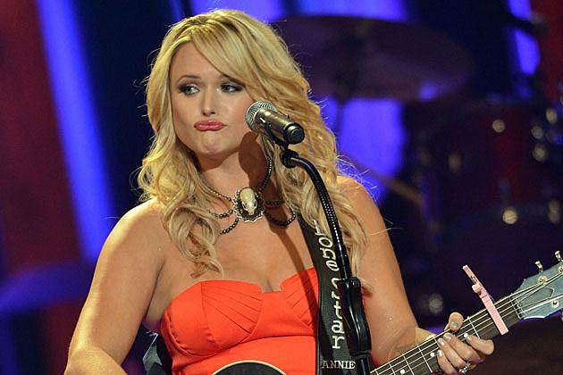 Miranda Lambert Funny Guitar Face