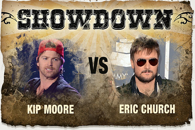 Kip Moore Eric Church