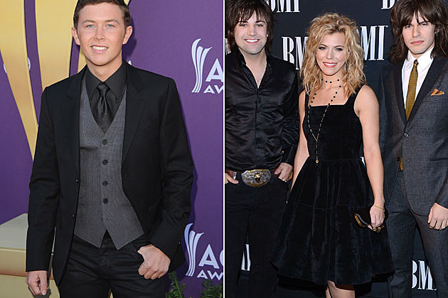 Scotty McCreery and the Band Perry