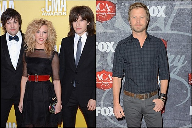 The Band Perry; Dierks Bentley