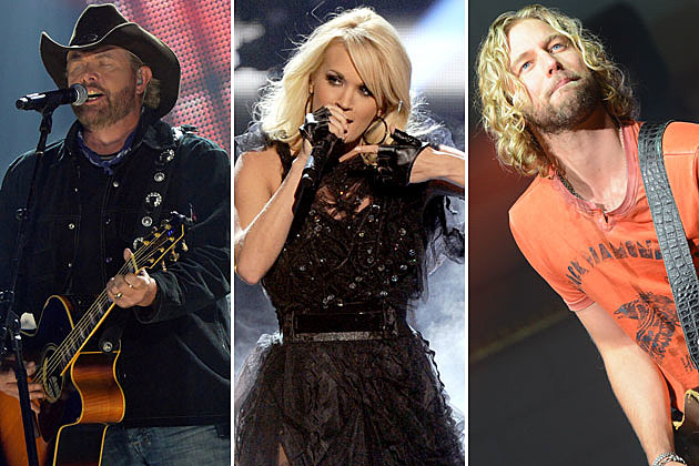 Toby Keith Carrie Underwood Casey James
