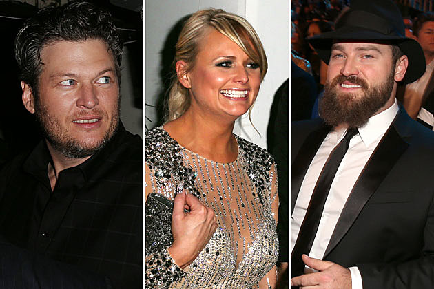 Blake Shelton, Miranda Lambert, Zac Brown