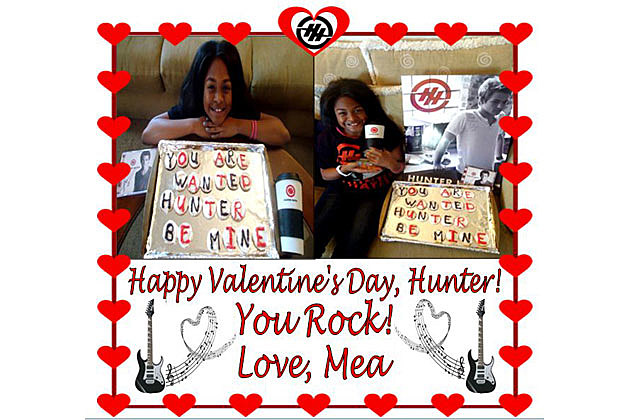 Hunter Hayes Valentines Day Winner
