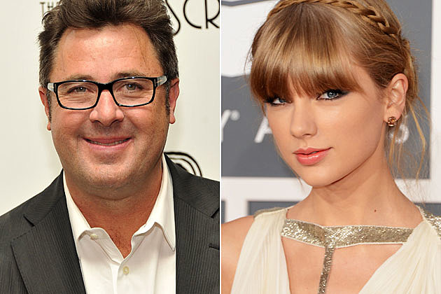 Vince Gill and Taylor Swift