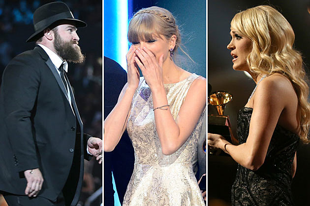 Zac Brown Taylor Swift Carrie Underwood