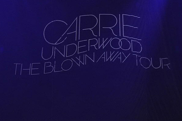 Carrie Underwood Blown Away Tour