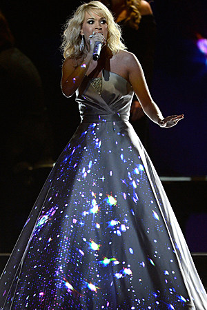 Carrie Underwood Digital Grammys Dress