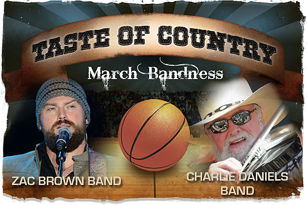 March Bandness Zac Brown Band Charlie Daniels Band