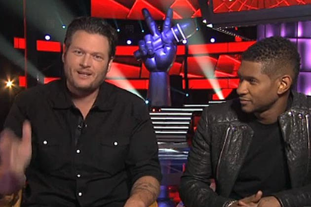 Blake Shelton Usher The Voice