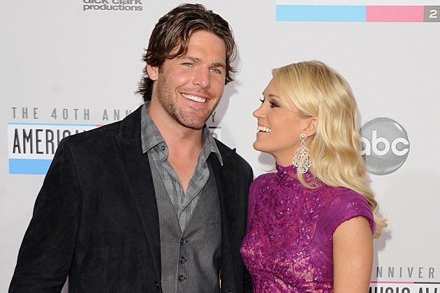 Carrie underwood s husband is no romeo but she helps him for Who is carrie underwood married too