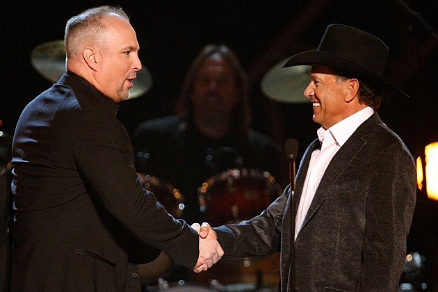 Garth Brooks George Strait