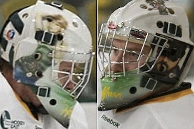 Taylor Swift Eric Church hockey helmet