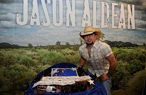 Jason Aldean Celebrates His Birthday With Jake Owen At