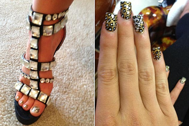 Lauren Alaina Prom Heels Nails