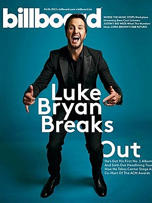 Luke Bryan Billboard Cover