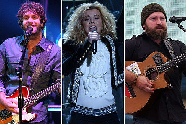 Billy Currington, Kimberly Perry, Zac Brown