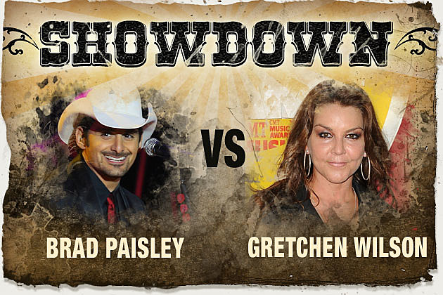 Showdown Brad Paisley Gretchen Wilson