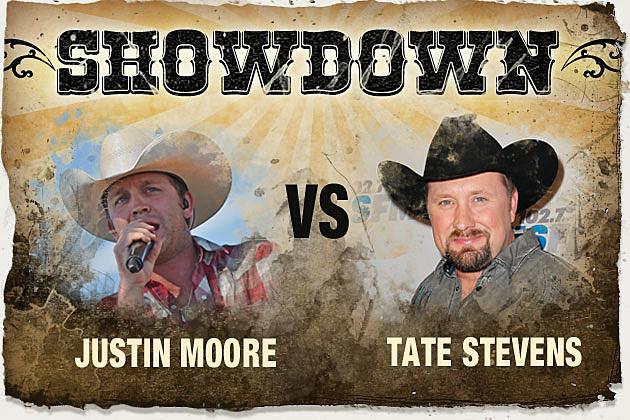 Justin Moore, Tate Stevens