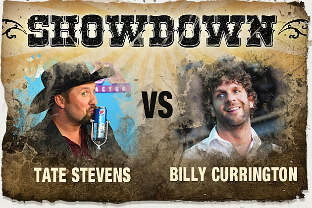 Tate Stevens, Billy Currington
