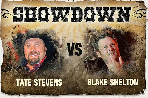 Tate Stevens, Blake Shelton