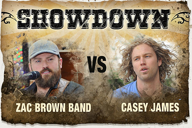 Zac Brown Band Casey James
